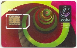 Congo (Kinshasa) - Zain - GSM SIM 2 Mini, Mint - Congo