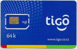 Tanzania - TIGO - Blue GSM SIM 64K, Mint