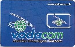 Tanzania - Vodacom - Blue GSM SIM 2 Mini, Mint