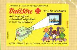 BUVARD  :Projecteur VALISIERE Grenoble - Film En Theater
