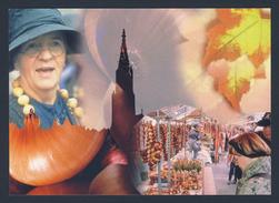 Switzerland Schweiz Suisse 2003 Postcard / Postkarte + Mi 1859 - Zibelemärit, Bern / Marché Aux Oignons / Cipolle - Landbouw