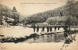 ABRESCHWILLER LA SARRE LE SANATORIUM EN HIVER - France