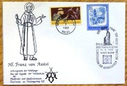 1982 Austria FDC Stamp Cover-'H Franz Von Assisi' D-142. - FDC
