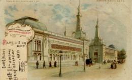 """PARIS - Exposition Universelle 1900 - Pavillons De Céramique - Système """"METEOR"""" (""""tenir Vers Le Jour"""") - Précurseur - Expositions"""