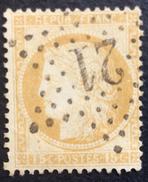D627 N°55  Étoile 21 - Marcophilie (Timbres Détachés)