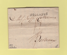 Hollande - Courrier De Rotterdaam - 1806 - Pays-Bas