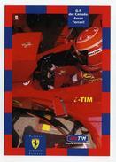 CP Pub Italienne Neuve - Partenariat Ferrari Et I-Tim - Grand Prix Du Canada Formule 1 - Turismo