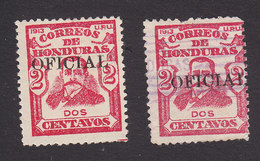 Honduras, Scott #O49, Mint Hinged/Used, Regular Issued Overprinted, Issued 1915