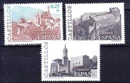 ESPAGNE 2002 YT N° 3454 à 3456 ** - 2001-10 Unused Stamps