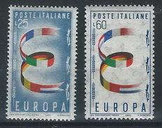 DD-/-799-. EURPOPA 1957 - N° 744/45. * * ,  Cote 4.50 €, SCAN DU VERSO SUR DEMANDE ,  TTB,  Je Liquide !! - Europa-CEPT