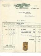 F34 - Facture Henri Franck Fils Bâle Pour Alois Schulthess Siders Sierre - Switzerland