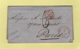 Rotterdam - Pays Bas Valenciennes 2 - 20 Juil 1865 - Pays-Bas