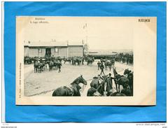 RUSSIE-FRANCE-1901-Visite Du Tsar-empereur Nicolas II REIMS-derrière La Loge Officielle-plan Animé - Russie