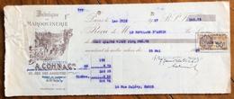 FRANCIA CAMBIALE PAGHERO'  FABRIQUE DE MAROQUINERIE A.COHN & C.  CON AUTOGRAFI E MARCHE DA BOLLO - Francia