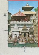 CARTOLINA NV NEPAL - KATMANDU - Temple Of Pasupati Nath - 9 X 14 - Nepal