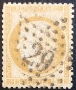 D633 N°55  Étoile 29 - Marcophilie (Timbres Détachés)