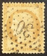 D634 N°55  Étoile 30 - Marcophilie (Timbres Détachés)