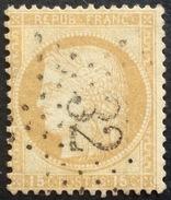 D635 N°55  Étoile 32 - Marcophilie (Timbres Détachés)