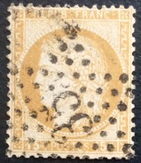 D636 N°55  Étoile 35 - Marcophilie (Timbres Détachés)