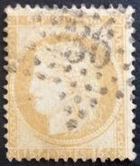 D637 N°55  Étoile 36 - Marcophilie (Timbres Détachés)