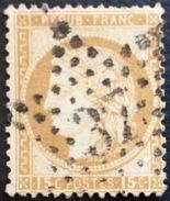 D638 N°55  Étoile 37 - Marcophilie (Timbres Détachés)