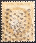 D639 N°55  Étoile 38 - Marcophilie (Timbres Détachés)