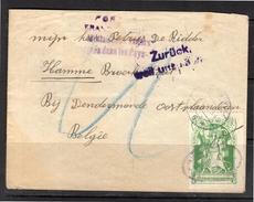 Internering 1918 Belgie Krijgsgevangene >  Petrus De Ridder, Hamme Broekstraat Dendermonde (BL7) - Period 1891-1948 (Wilhelmina)