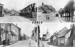 CPSM Dentelée - CANLY (60) - Carte Multi-Vues De 1959 - France