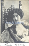 71170 ARTIST LINA CAVALIERI ITALY 1874 – 1944 ACTRESS & SINGER OPERA SOPRANO PHOTOGRAPHER REUTLINGER POSTAL POSTCA - Artisti