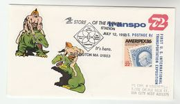1993 USA Rent A POST BOX USPS Services EVENT COVER  Stamps UPRATED Postal STATIONERY - Post