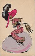 CPA NAILLOD Femme Woman Type Sager Non Circulé Mode Chapeau éditions Artistiques 131 - Naillod