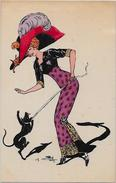 CPA NAILLOD Femme Woman Type Sager Mode Chapeau éditions Artistiques Non Circulé 128 - Naillod
