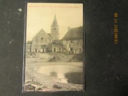 Cpa SAINT ILLIERS LA VILLE (78) Vue Sur L'église Et La Ferme De L'Abbaye - Autres Communes