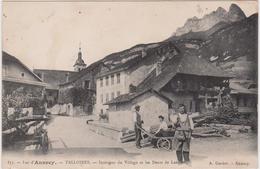 TALLOIRES Intérieur Du Village Et Les Dents De LANFONT - Talloires