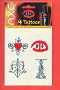 TATOO    AXE - Perfume Cards