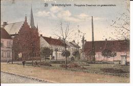 WOMMELGEM: Dorpplein Dasstraat En Gemeentehuis - Wommelgem