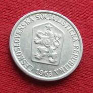 Czechoslovakia 10 Haleru 1963 KM# 49.1 Lt 469 Tchecoslovaquie Checoslovaquia - Czechoslovakia