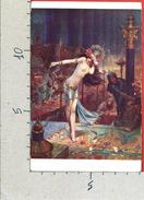 CARTOLINA NV FRANCIA - G. BUSSIERE - Salomè - S.P.A. - Nudo - 9 X 14 - Paintings