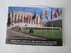 BELLE COLLECTION DE DOCUMENTS AVEC TIMBRES ET DE CARNETS DES NATIONS UNIES - NEW-YORK-GEVIENNE-VIENNE , XX !!! - Timbres