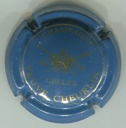 CAPSULE-CHAMPAGNE CHEURLIN VEUVE N°01 Bleu & Or