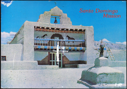 United States Oakland 1993 / Santo Domingo Mission Church / Indian Reservation / New Mexico - Albuquerque