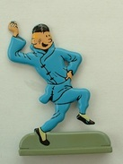 FIGURINE TINTIN - LE LOLUS BLEU - Tintin