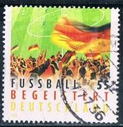 2012   Fußball Begeistert Deutschland  (gezähnt) - [7] Federal Republic
