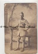 WWI - 201 EME REGIMENT - CROIX DE GUERRE 2 ETOILES - CYCLISTE - CARTE PHOTO MILITAIRE - Guerre 1914-18