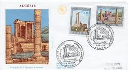 """1969 - Algérie - FDC """"VESTIGES DE L'EPOQUE ROMAINE"""" - TIMGAD - Algeria (1962-...)"""