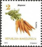 MK 2015-736 CARROT, MACEDONIA, 1 X 1v, MNH - Mazedonien