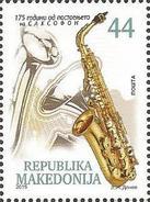 MK 2015-734 SAKSOFON, MACEDONIA, 1 X 1v, MNH - Mazedonien