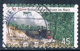 2012  125 Jahre Schmalspurbahnen Im Harz  (selbstklebend-selfadhesi F) - [7] République Fédérale