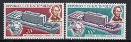 1970 Upper Volta Haute Volta  UPU Lincoln Complete Set Of  2 MNH - Upper Volta (1958-1984)