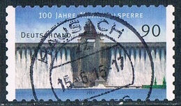 2013  100 Jahre Möhnetalsperre (selbstklebend) - Oblitérés